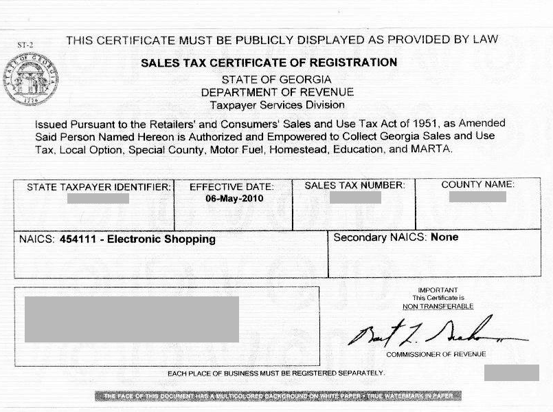 How Do I Obtain A Resale Certificate Deeperdeals