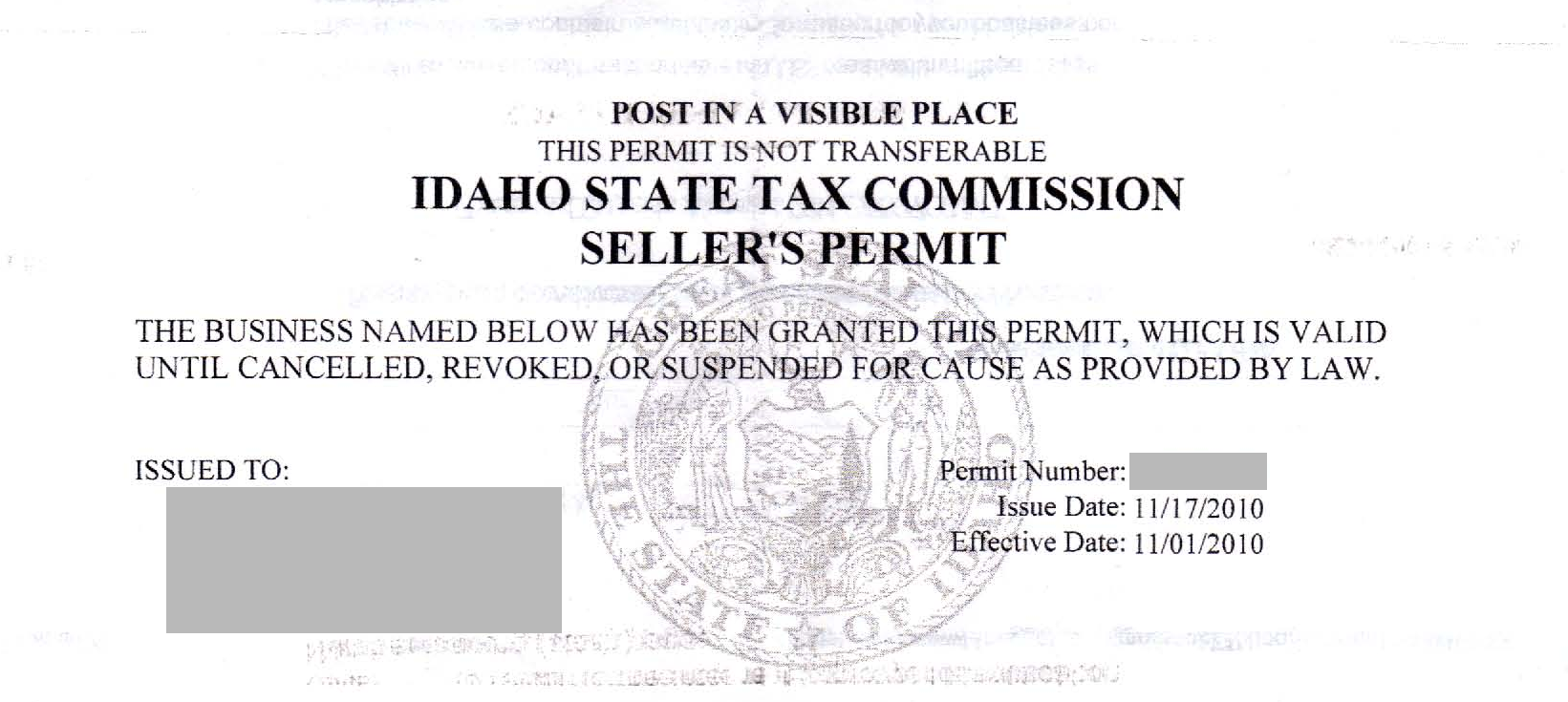 How do i obtain a resale certificate deeperdeals resale or exempt state tax commission sellers permit 1betcityfo Image collections
