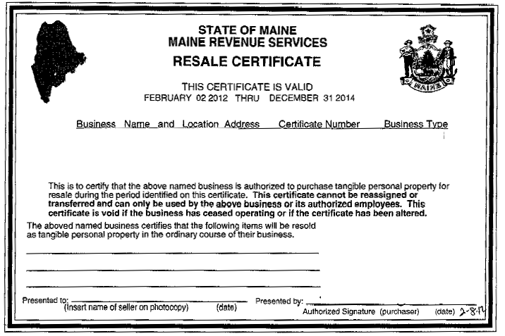 How do I obtain a Resale Certificate? – DeeperDeals