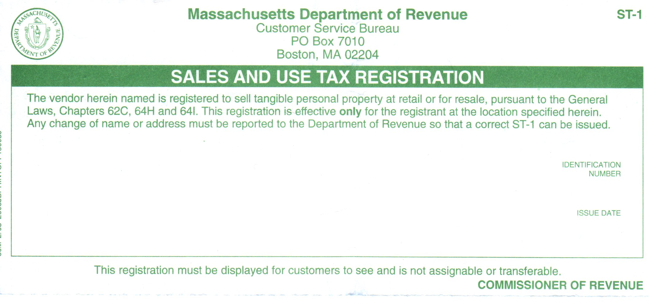 How do i obtain a resale certificate deeperdeals massachusetts ma resale sales and use tax xflitez Image collections