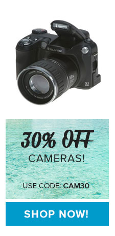 30% OFF Cameras - Use Code: CAM30
