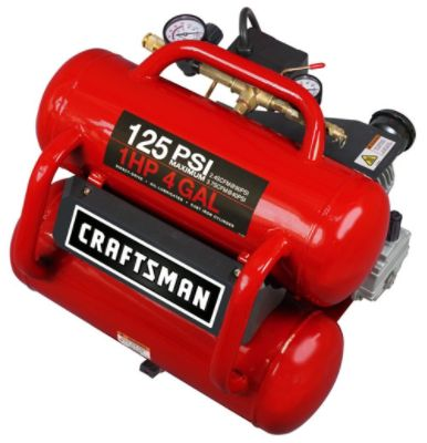 Craftsman - 4 Gallon Oil-Lube Slant Stack and Hose Kit The price is $99.99.