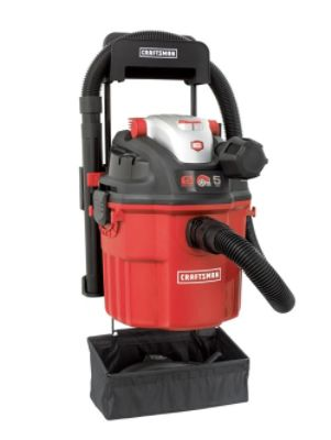 Craftsman Refurbished Remote Control Wall Mount 5.0 Peak HP Wet/Dry Vac at Sears.com