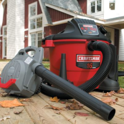 Craftsman Refurbished 16-gal 6.5-peak hp Wet/Dry Vac with Detachable 265 mph Blower at Sears.com