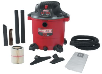 Craftsman Refurbished 20 gal. Wet-Dry Vac, 6.5 Peak hp at Sears.com