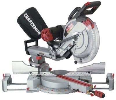 Craftsman - 12 in. Dual Bevel Sliding Compound Miter Saw The price is $154.99.