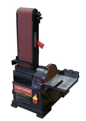 Craftsman - 1/3 hp Bench Top 4' x 36' Belt/6' Disc Sander (21514) The price is $108.99.