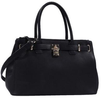 RUBY BLUE COUTURE ISABELLE TOTE  BLACK The price is $14.99.