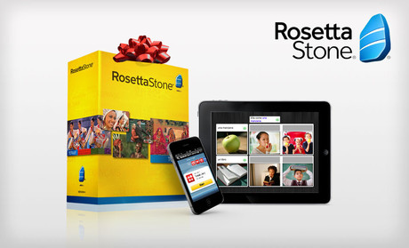 Rosetta Stone Language Solution The price is $189.99.
