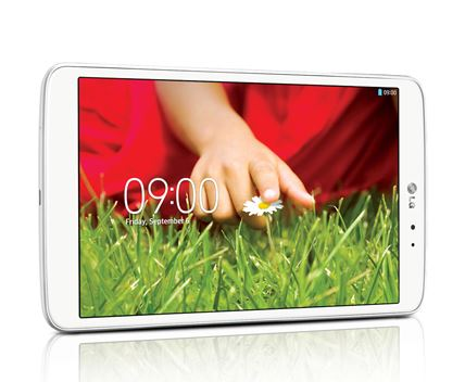 LG G Pad 8.3' Tablet - 16gb - Full HD Display - White The price is $189.99.