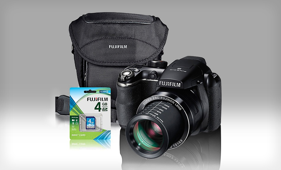 Fujifilm Fuji FinePix S4400 Digital Camera Gift Bundle at Sears.com