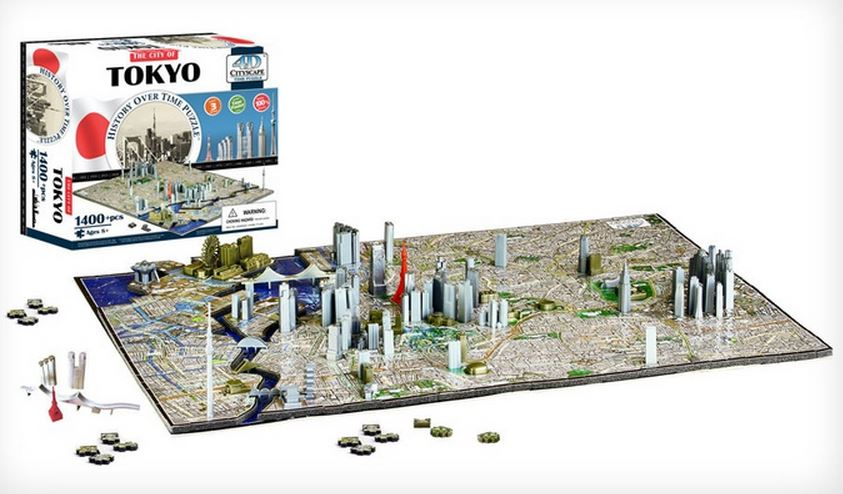 4-D CityScape Puzzles: London
