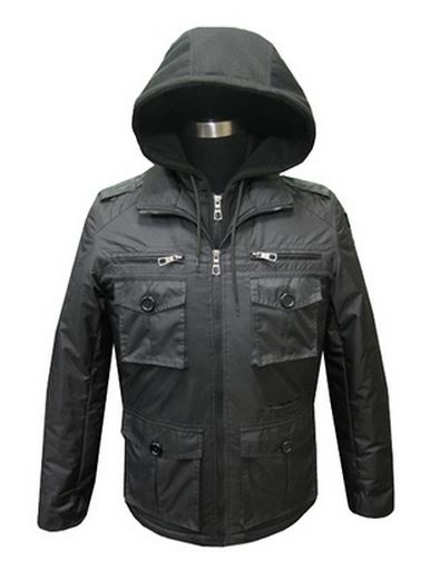 Whispering Smith Men's Jacket - MJK Manhattan Black: Medium