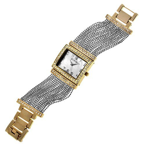 Rousseau Iris II Chain Bracelet Ladies Watch The price is $514.99.
