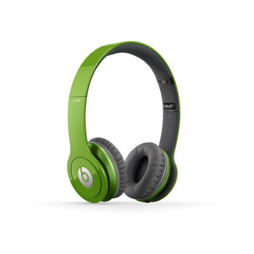 BEATS BY DRE SOLO HD HEADPHONES  GREEN