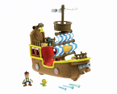 isher-Price Jake and The Never Land Pirates - Jake's Musical Pirate Ship Bucky