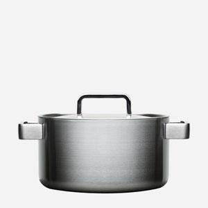 stainless steel casserole pot pan large pan with lid