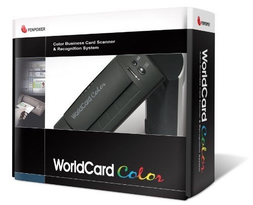 Penpower WorldCardColor Color Business Card Scanner