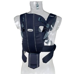 BABYBJÖRN Baby Carrier Original - Dark Blue-  8-25 pounds The price is $55.99.