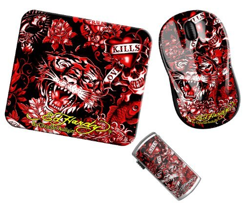 Ed Hardy Limited Edition 8 GB Computer Accessory Tattoo Pack (Red) The price is $35.99.