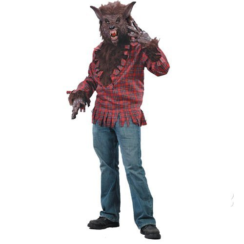 Werewolf (Brown) Adult Costume Size Standard