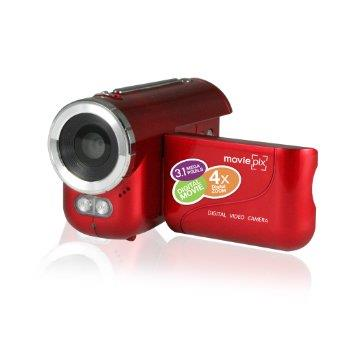 MoviePix Kids Digital Video Recorder (Red)