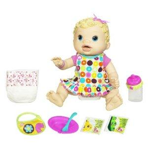 Baby Alive Changing Time Baby - Blonde
