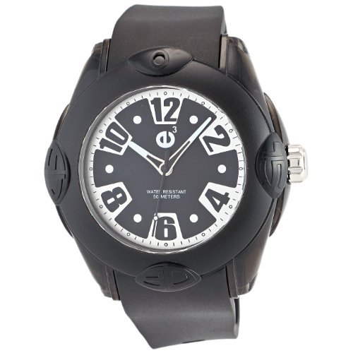 Tendence Women's 2013054 Rainbow Hi-Tech Polycarbonate Black Watch