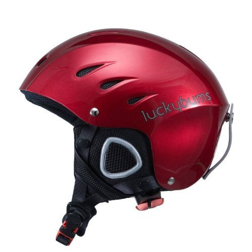 Lucky Bums Kids Snow Sport Helmet with Fleece Liner, Red, X-Small/Small The price is $27.99.