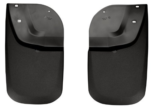 Husky Liners Custom Fit Molded Rear Mudguard for Select Ford F-250 /F-350 Models - Pack of 2 (Black) The price is $28.99.