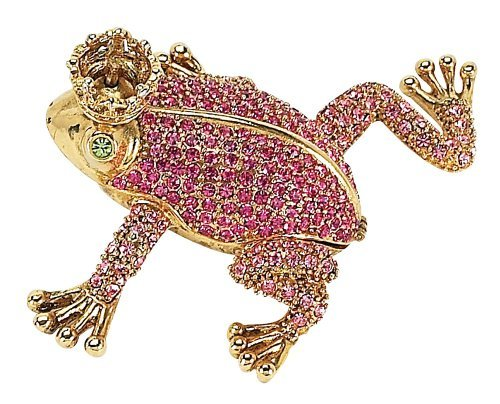 Olivia Riegel Pink Frog with Crown Box The price is $59.99.