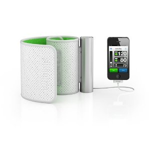Withings BP-800 Blood Pressure Monitor - White and Green