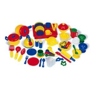 LEARNINGPretend & Play Kitchen Set 70 Pcs