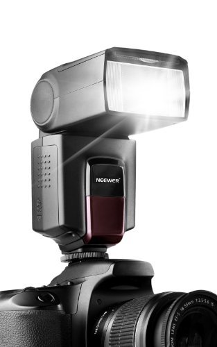 Neewer TT560 Flash Speedlite For Canon/Nikon Digital SLR Cameras