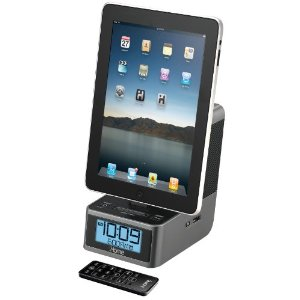 iHome iD37GZC Dual Alarm Stereo Clock Radio for iPad/iPhone/iPod