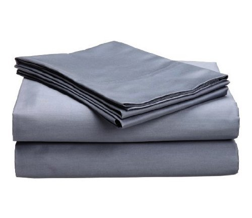 Echelon Black Label Sateen King Sheet Set, Dusk The price is $89.99.