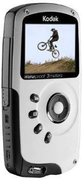 Kodak ZX3 Playsport Black Video Camera - Refurbished