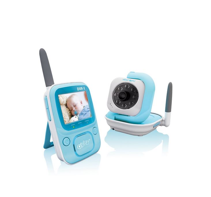 Infant Optics 2.4ghz Digital Video Baby Monitor, 2.4' Monitor, IR Night Vision