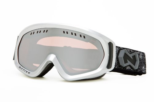 Native Eyewear Pali Polarized Goggle (Chrome Reflex, Platinum) The price is $32.99.