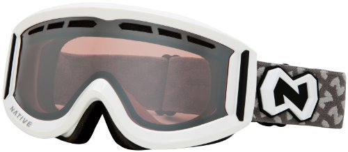 Native Eyewear Riva Polarized Goggle (Chrome Reflex, Snow) The price is $49.99.