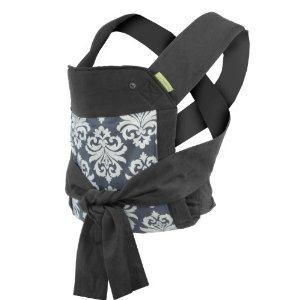 Infantino Sash Mei Tai Carrier Black/Gray