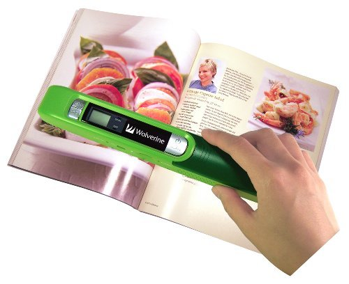 Wolverine PASS200 Handheld Portable Documents, Books and Photo Scanner The price is $49.99.