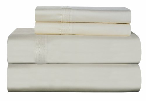Pointehaven 700 Thread Count Luxury Sheet Set, Bone The price is $84.99 - $93.99.