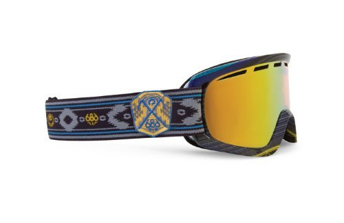 Dragon Alliance D2 Collab Goggles (Multi, Gold Ion/Amber)