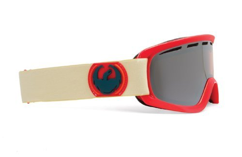 Dragon Alliance D2 Rawhide Goggles (Red, Ionized/Amber) The price is $49.99 - $54.99.