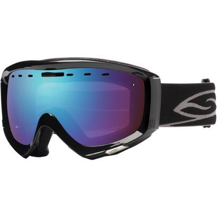 Smith Optics Prophecy Goggle (Black Frame, Blue Sensor Mirror Lens) The price is $67.99 - $87.99.