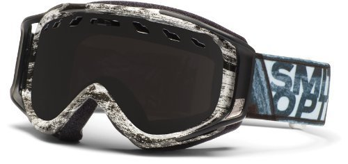 Smith Optics Stance Goggle (Black/White Dark Sky Frame, Blackout Lens) The price is $43.99.