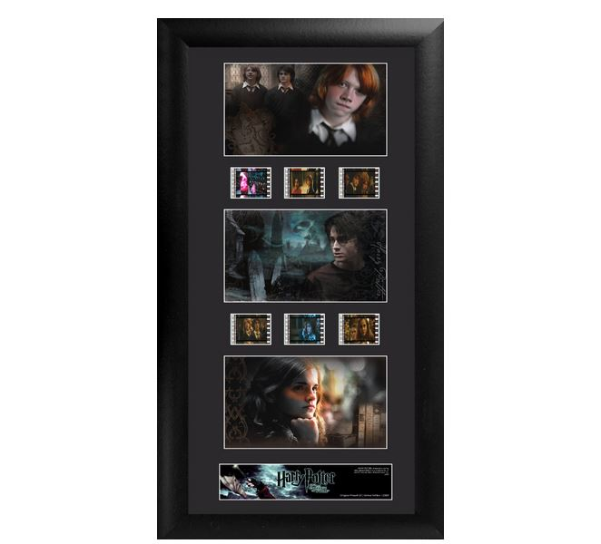 Trend Setters Ltd Harry Potter 4 S1 Trio Film Cell