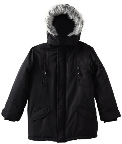 Timberland Boys 8-20 Snorkle Jacket, Black, Large