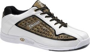 Dexter Dale Bowling Shoes, White/Gold/Black, 9 The price is $36.99.